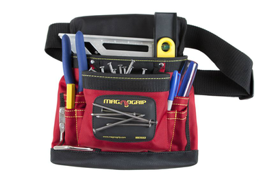 8-Pocket Magnetic Tool Pouch - Signature Red
